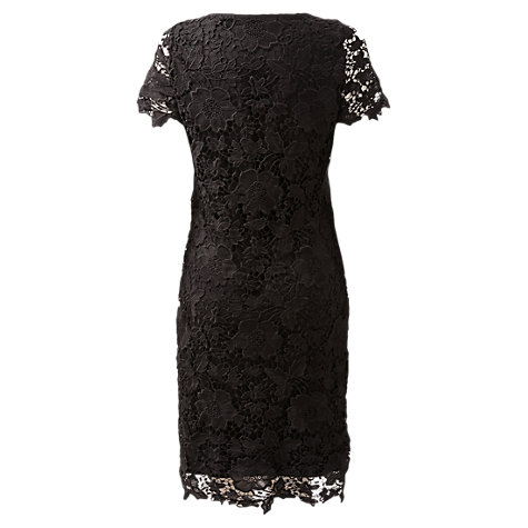 Buy East Lace Dress, Black Online at johnlewis.com
