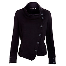 Buy Sandwich Side Button Jersey Jacket, Black Online at johnlewis.com