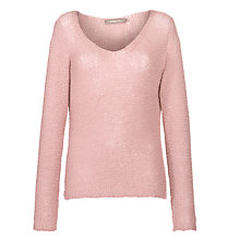 Buy Sandwich Loose Fit Jumper, Pink Mist Online at johnlewis.com