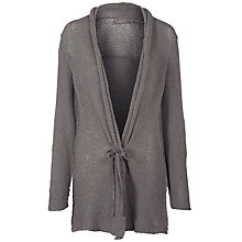 Buy Sandwich Loose Knitted Long Cardi, Spring Grey Online at johnlewis.com