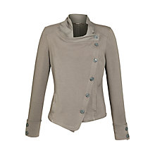 Buy Sandwich Side Button Jersey Jacket, Spring Grey Online at johnlewis.com