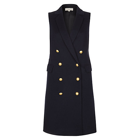 Buy Hobbs Parisa Dress, Dark Navy Online at johnlewis.com
