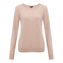 Buy Jigsaw Viscose Blend Crew Neck Jumper Online at johnlewis.com