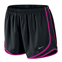 Buy Nike Tempo 9cm Shorts, Black/Pink Online at johnlewis.com