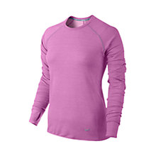 Buy Nike Dri Fit Feather Crew Neck Top Online at johnlewis.com