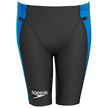 Buy Speedo Men's LZR Racer Triathlon Comp Shorts, Black/Blue Online at johnlewis.com