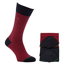 Buy Tommy Hilfiger Fine Stripe Socks, Pack of 2 Online at johnlewis.com