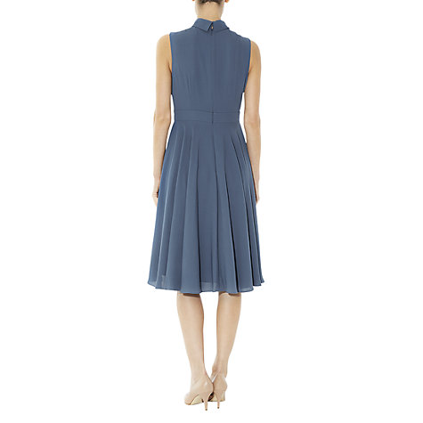 Buy Hobbs Isla Dress, Heron Blue Online at johnlewis.com