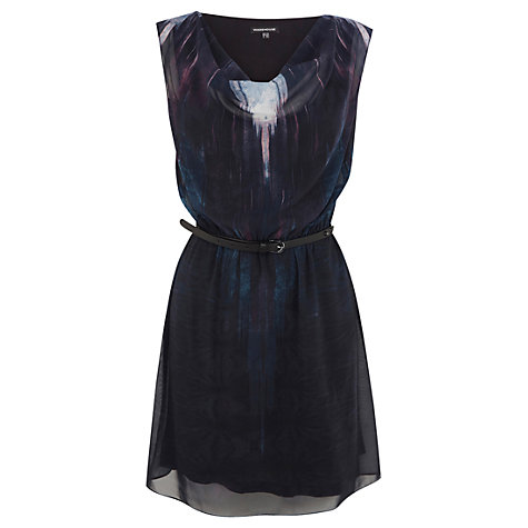 Buy Warehouse Ombre Textured Dress, Multi Online at johnlewis.com