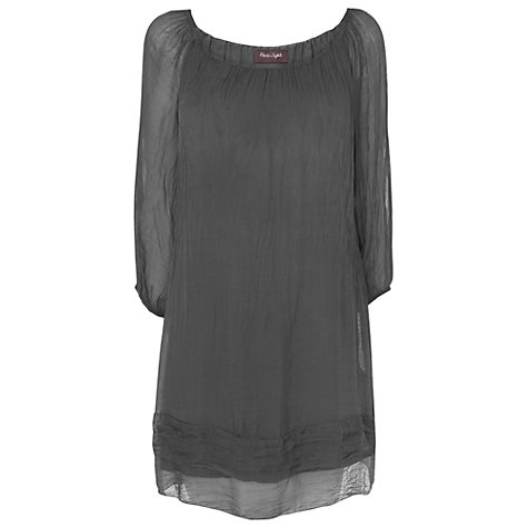 Buy Phase Eight Made in Italy Mimi Dress, Charcoal Online at johnlewis.com