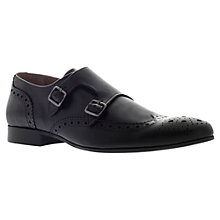 Buy KG by Kurt Geiger Utah Monk Strap Brogue Shoes Online at johnlewis.com