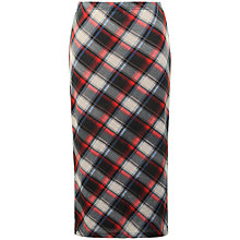 Buy True Decadence Midi Skirt, Tartan Online at johnlewis.com