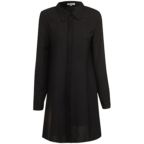 Buy True Decadence Shirt Dress, Black Online at johnlewis.com