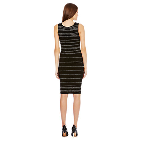 Buy Coast Jessie Knitted Dress, Black Online at johnlewis.com