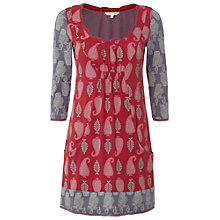 Buy White Stuff Tula Tunic Dress, Russian Red Online at johnlewis.com