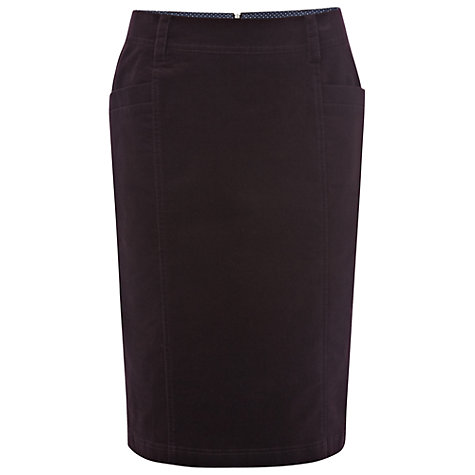 Buy White Stuff Pencil Skirt, Dark Aubergine Online at johnlewis.com