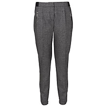Buy French Connection Pepper Tweed Trousers, Grey Hanger Online at johnlewis.com
