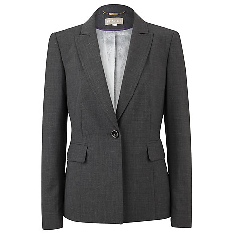 Buy Planet Tailored Jacket, Charcoal Online at johnlewis.com