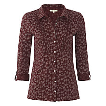 Buy White Stuff Sweetkiss Shirt, Burnt Red Online at johnlewis.com