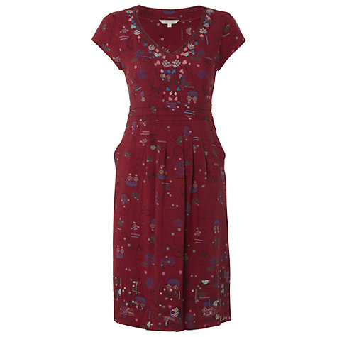Buy White Stuff Russian Doll Dress, Russian Red Online at johnlewis.com