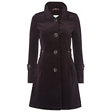 Buy White Stuff Velvet Coat, Deep Purple Haze Online at johnlewis.com