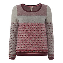 Buy White Stuff Chagal Jumper, Pittsburg Pink Online at johnlewis.com
