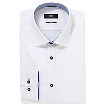 Buy Boss Black Juri Slim Fit Easy Iron Long Sleeve Shirt Online at johnlewis.com
