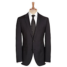 Buy BOSS The Rider Suit Jacket, Charcoal Online at johnlewis.com