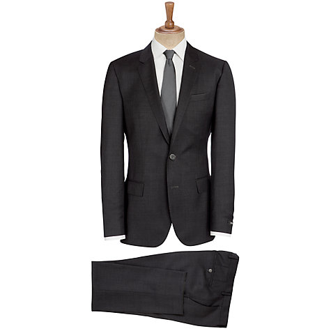 Buy BOSS Hutson Gander Suit, Charcoal Online at johnlewis.com