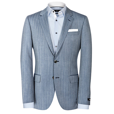 Buy Boss Black Hutson Blazer, Grey Online at johnlewis.com