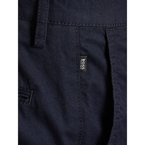 Buy BOSS Stanino Slim Chinos, Navy Online at johnlewis.com