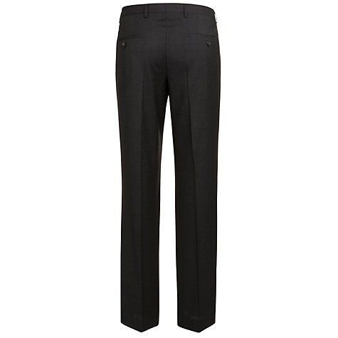 Buy BOSS Shout Suit Trousers, Charcoal Online at johnlewis.com