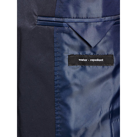 Buy Boss Black Dais Water Repellent Coat, Dark Blue Online at johnlewis.com