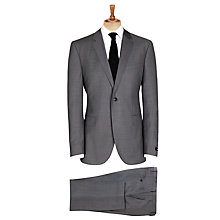 Buy BOSS Keys Shaft Suit, Grey Online at johnlewis.com