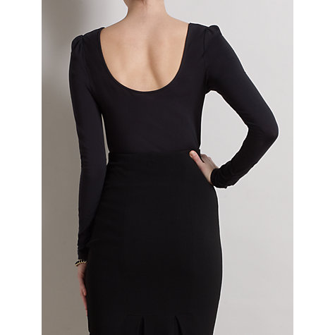 Buy Somerset by Alice Temperley Fitted Scooped Neck Top Online at johnlewis.com