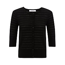 Buy COLLECTION by John Lewis Violet Striped Cardigan Online at johnlewis.com