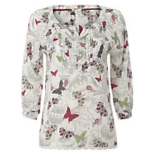 Buy White Stuff Misha Top, Cream Tea Online at johnlewis.com