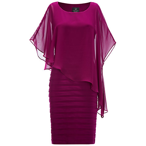 Buy Adrianna Papell Chiffon Drape Dress Online at johnlewis.com