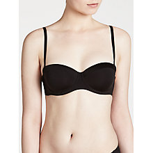 Buy John Lewis Satin Band Underwired Multiway Bra Online at johnlewis.com