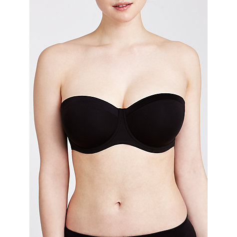 Buy John Lewis Satin Band DD Plus Underwired Strapless Multiway Bra Online at johnlewis.com
