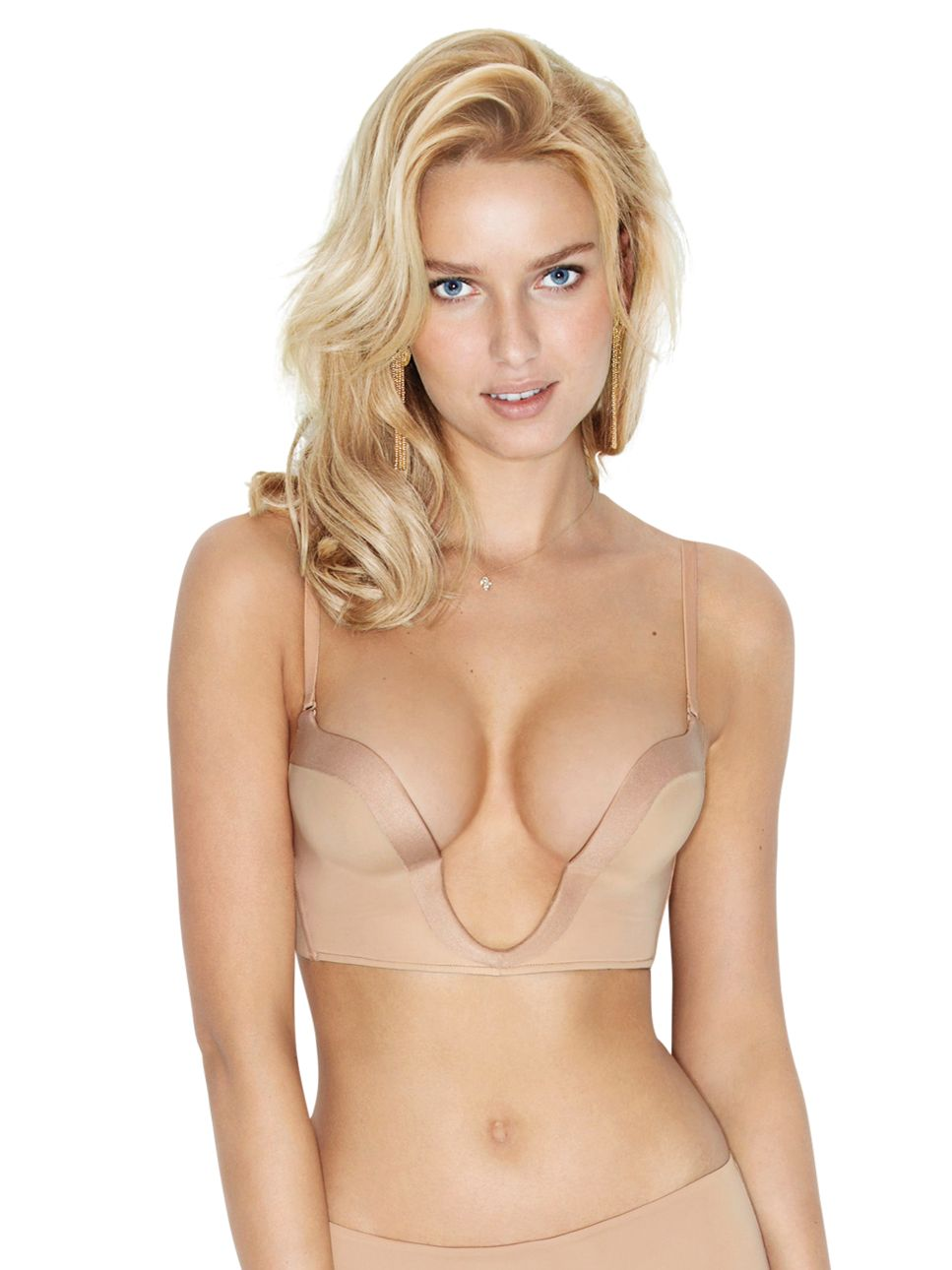 Wonderbra Ultimate Plunge Bra, Nude