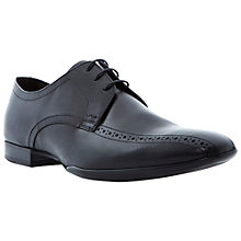 Buy Dune Abridge Gibson Brogue Derby Shoes, Black Online at johnlewis.com