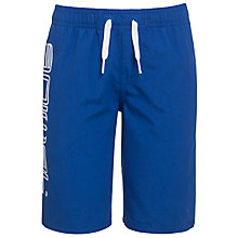 Buy Animal Boys' Logo Print Swim Shorts, Blue Online at johnlewis.com
