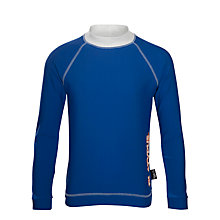 Buy Platypus Boys' Long Sleeve Rash Vest, Blue Online at johnlewis.com