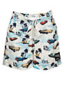 Platypus Boys' Car Print Swim Shorts, Multi