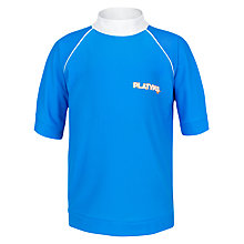 Buy Platypus Boys' Surf Rash Vest, Blue Online at johnlewis.com