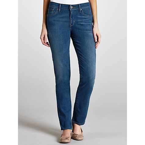 Buy Levi's Demi Curve Slim Jeans, Mazzarine Blue Online at johnlewis.com