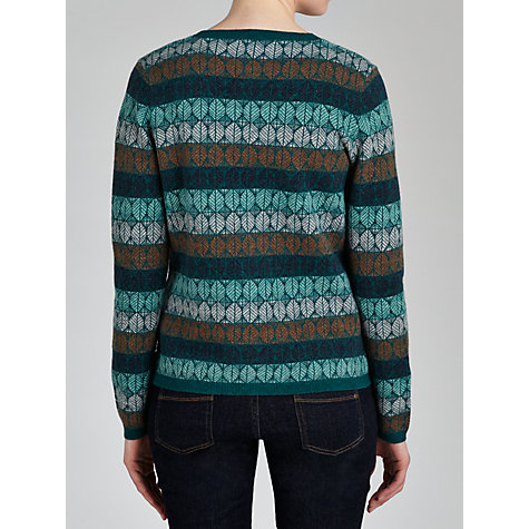 Buy Seasalt Matilda Cardigan, Leaf Jacquard Multi Online at johnlewis.com