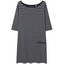 Buy Seasalt Lambe Creek Dress, Duet Squid Ink Online at johnlewis.com