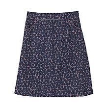 Buy Seasalt Killingley Skirt, Madron Leaves Wisteria Online at johnlewis.com